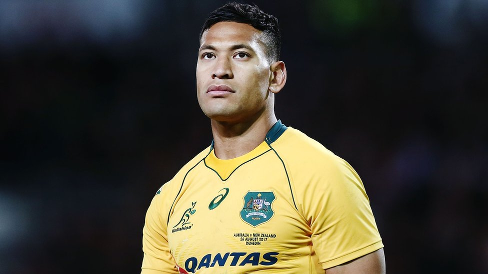 Rugby Australia 'accepts' Folau's explanation in anti-gay row