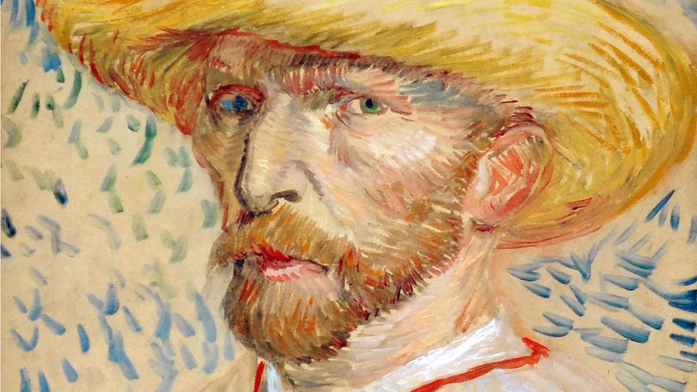 autoportret van goga