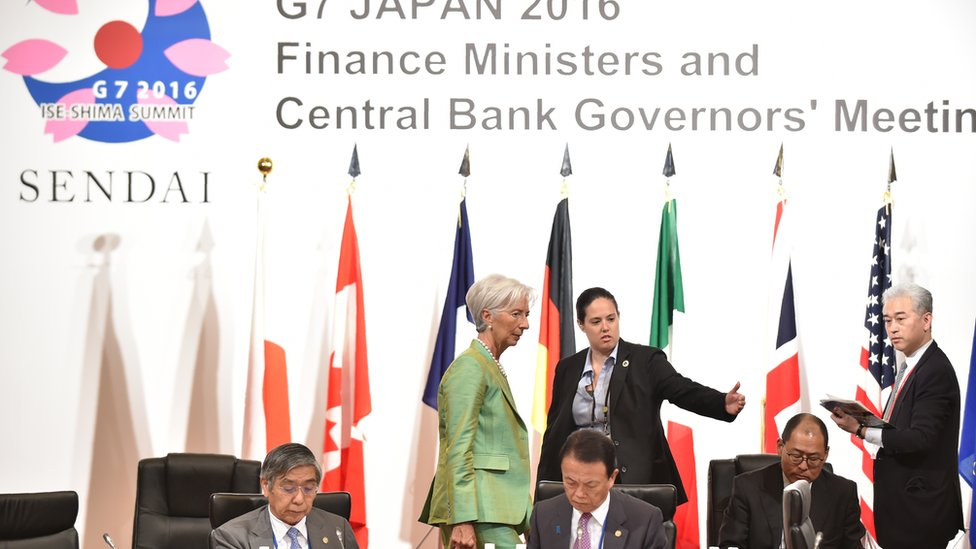 G7 finance minister meeting