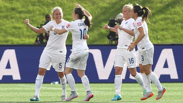 Women's World Cup 2015 highlights: Norway 1-2 England