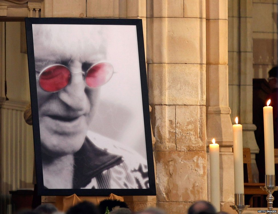 Jimmy Savile's funeral