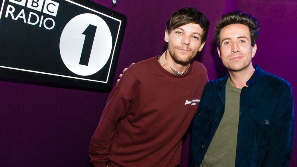 Louis with Nick Grimshaw