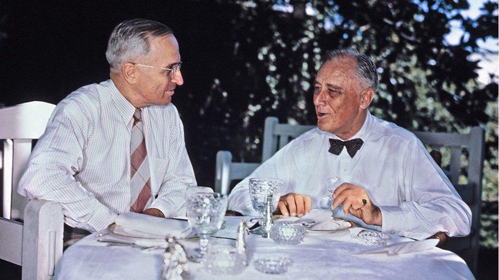 Harry Truman y FDR