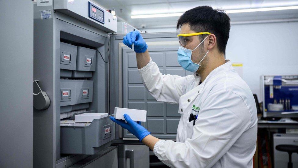 香港Prenetics/Circle DNA公司實驗室(5/6/2020)