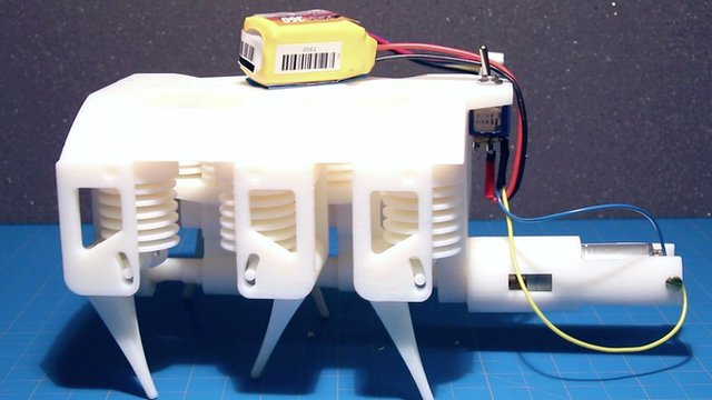 MIT 3D-printed robot