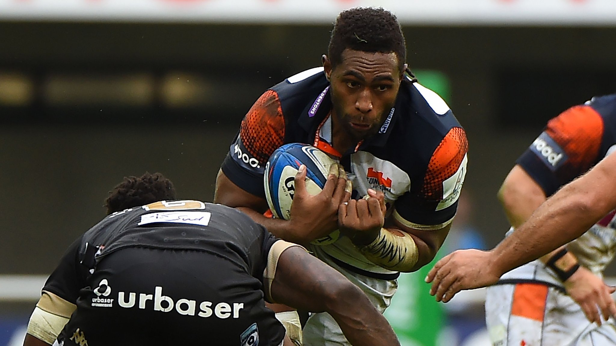 European Rugby Champions Cup: Montpellier hold off Edinburgh onslaught
