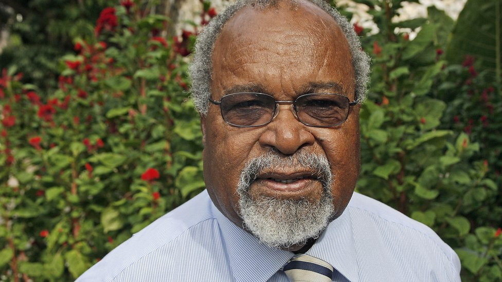 Papua New Guinea's Michael Somare