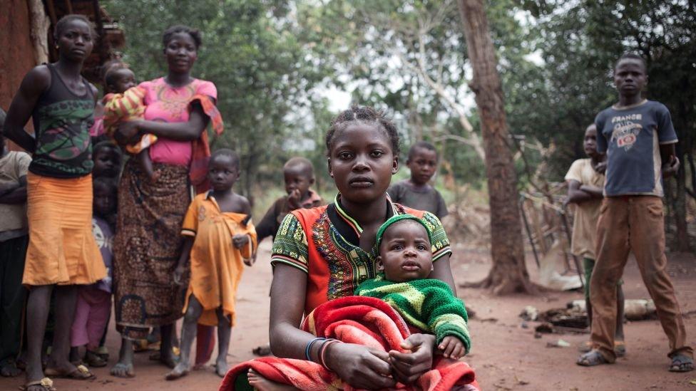 Perempuan dan anak di benua Afrika