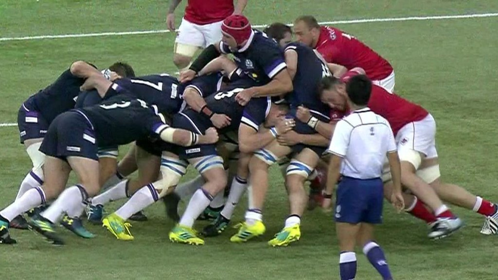 Highlights: Canada 10-48 Scotland