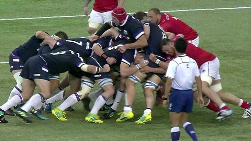 Highlights: Canada 10-48 Scotland