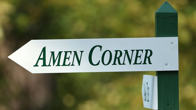 Amen Corner sign