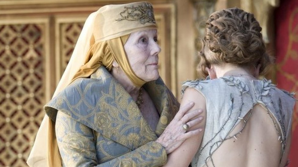 Diana Rigg in Game of Thrones