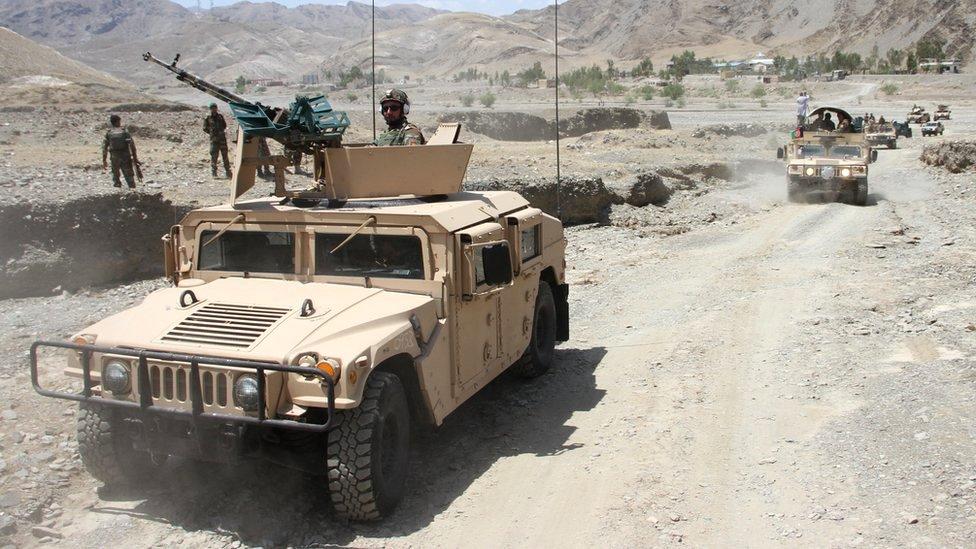 阿富汗政府軍試圖重新奪回部分塔利班控制區域。