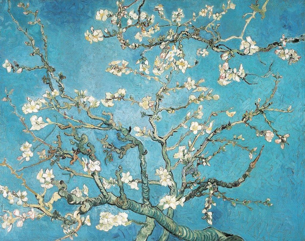 El almendro en flor de Vincent van Gogh