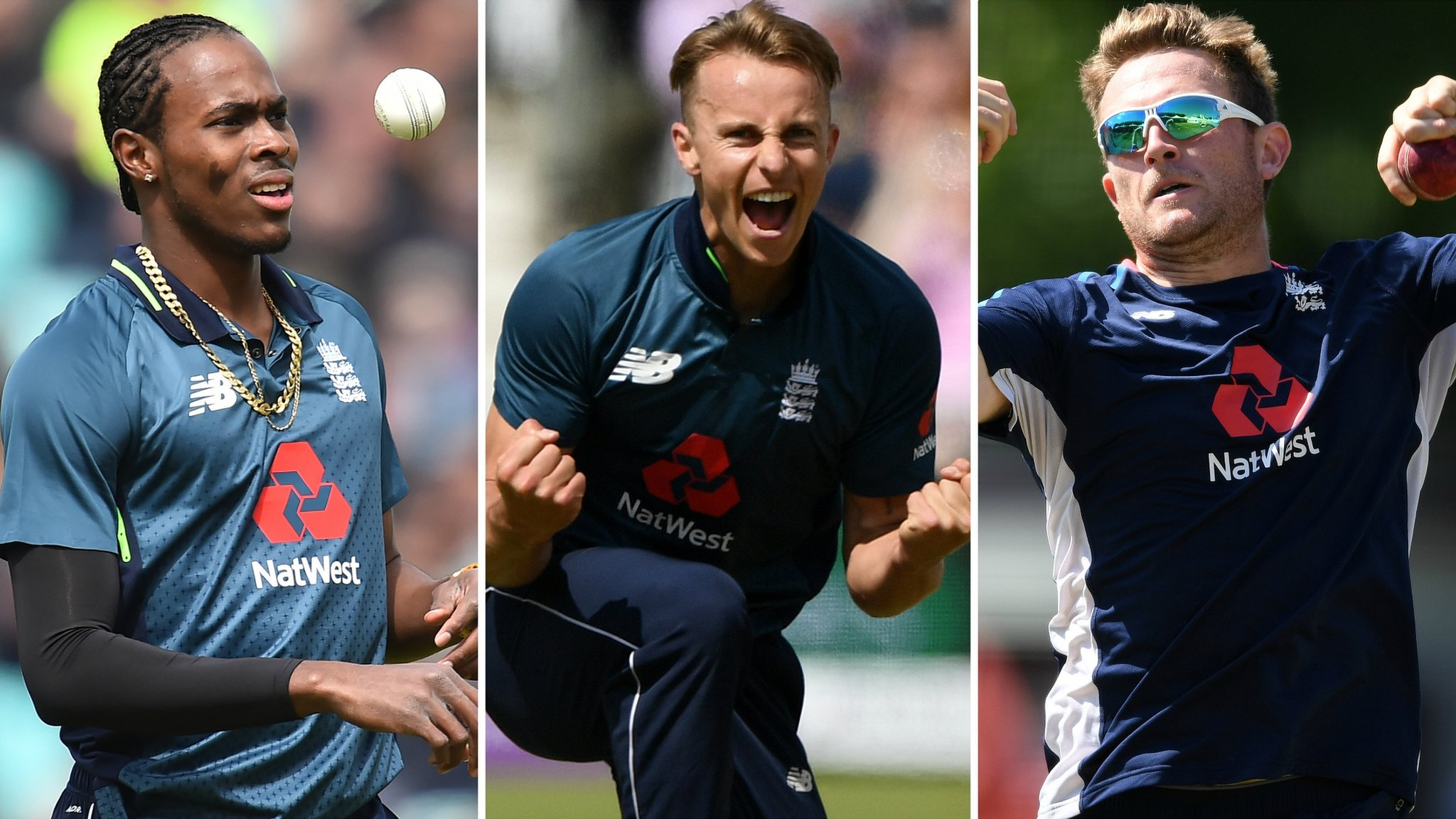 Archer, Curran & Dawson in England World Cup squad