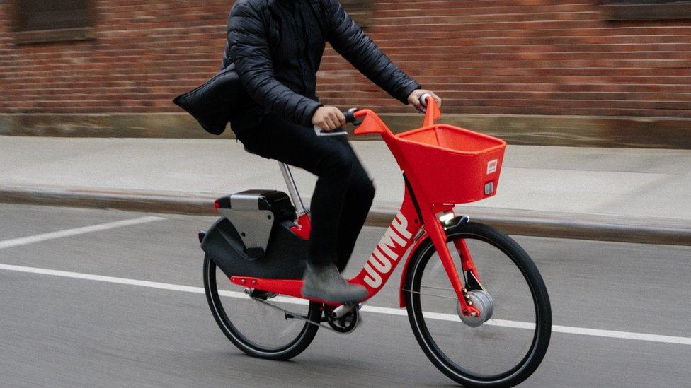 دراجة هوائية من طراز جامب