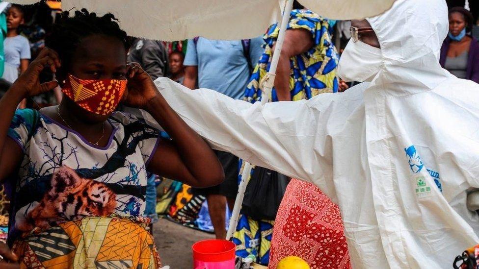 تشهد جمهورية الكونغو الديمقراطية حاليا ارتفاعًا في حالات كوفيد 19