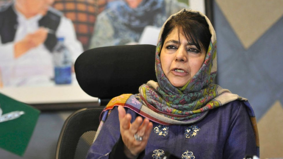 Mehbooba Mufti: India frees top Kashmir politician after 14 months thumbnail