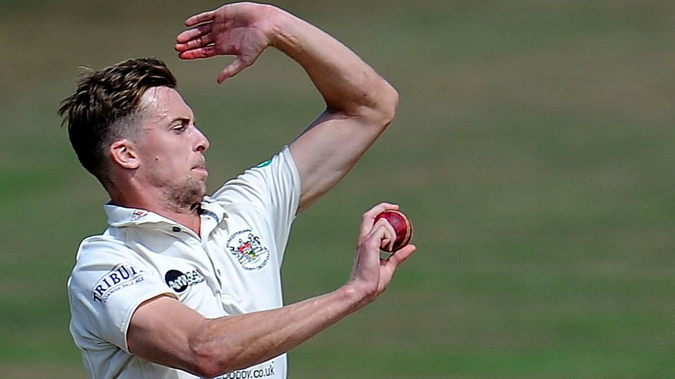 County Championship: Craig Miles bowls Gloucestershire into strong position before Derbyshire hit back