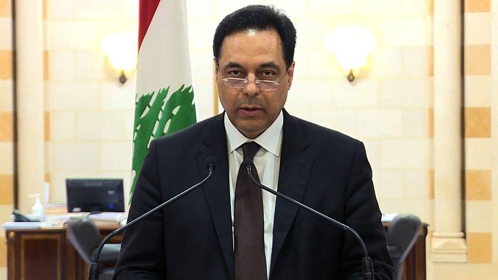 حسان دياب رئيس الوزراء