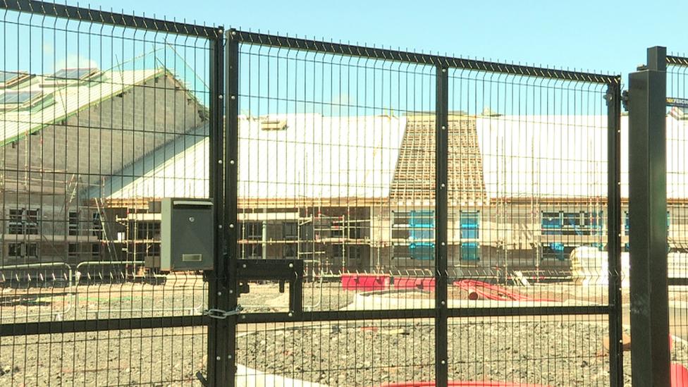 Corran Integrated School building in Larne delayed
