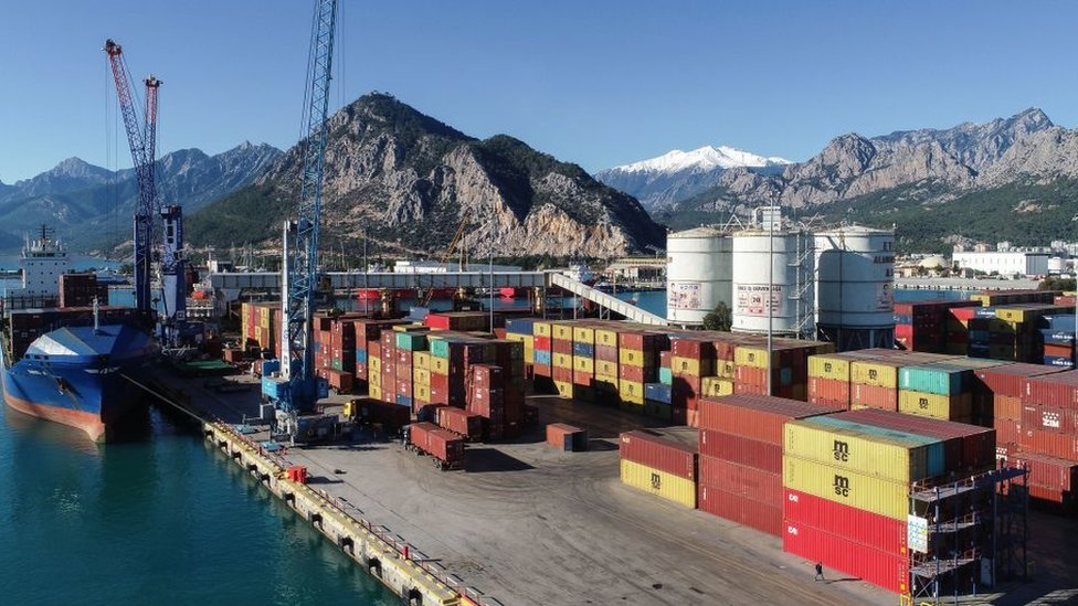 Antalya'daki Akdeniz Limanı