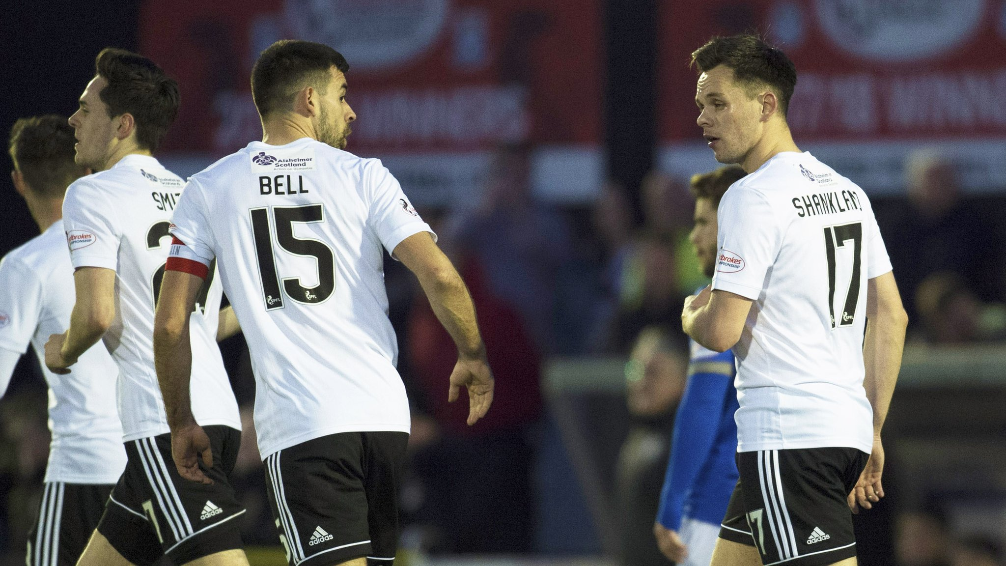 Ayr United beat Queen of the South to return to third sport