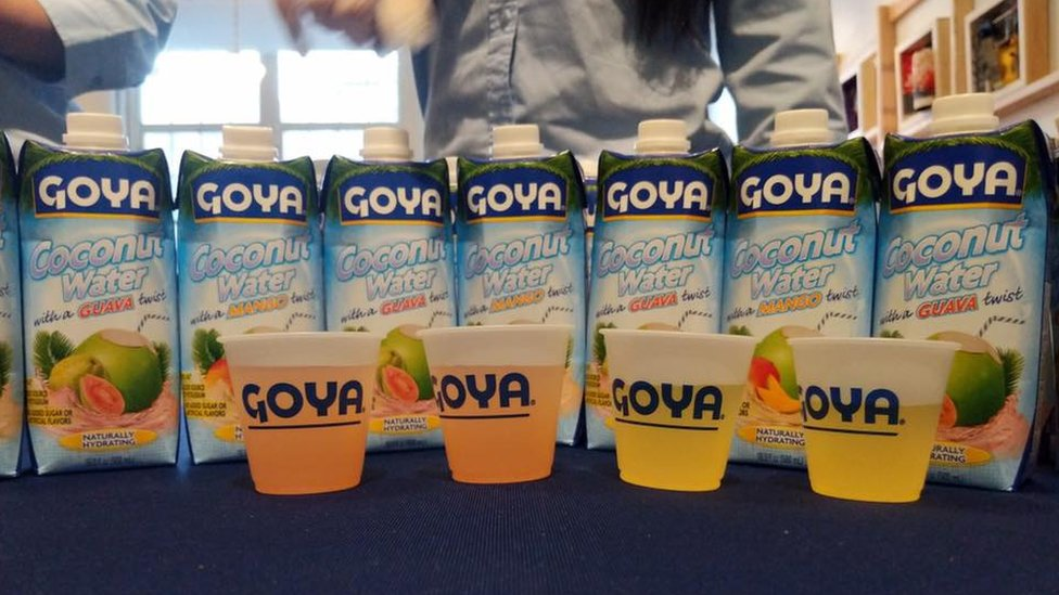 Agua de coco de Goya Foods