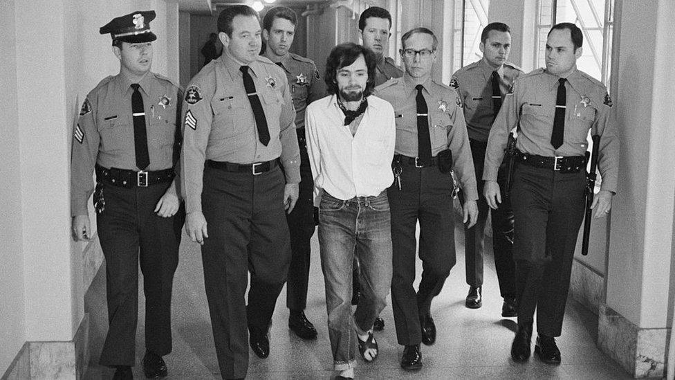 Charles Manson detenido