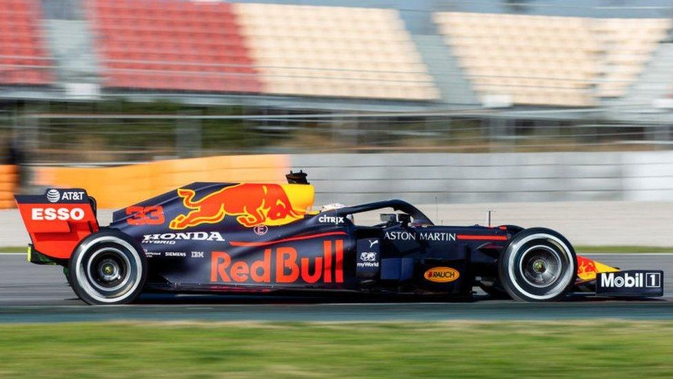 Red Bull Honda car
