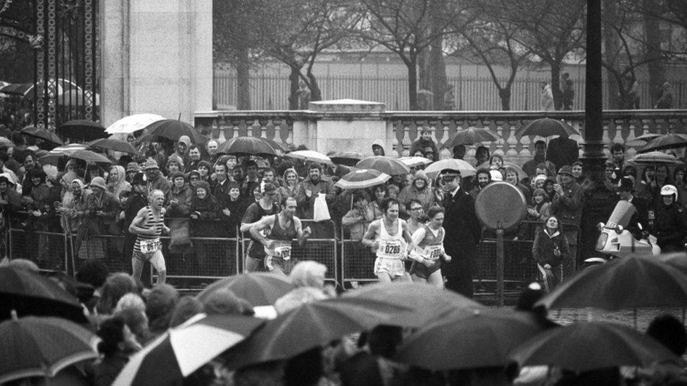 London Marathon 1981