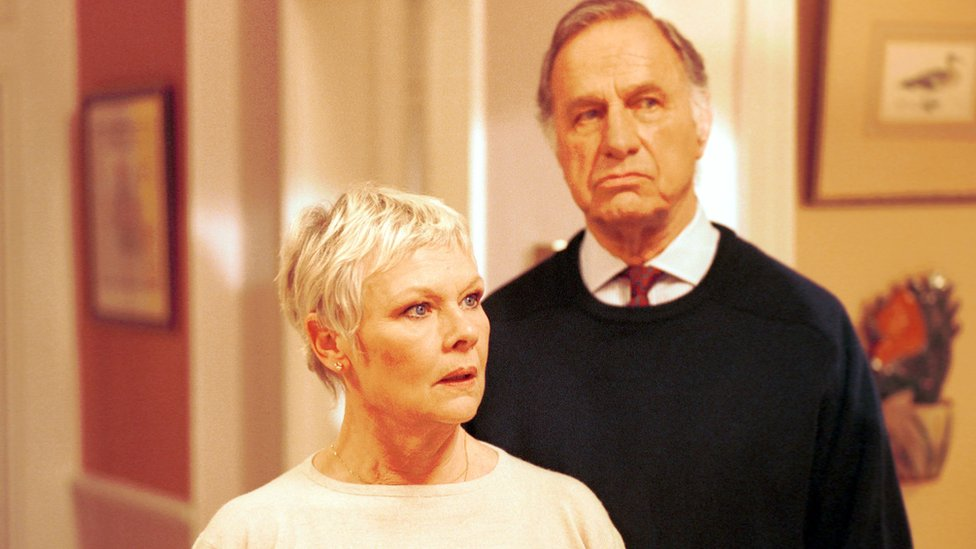 Geoffrey Palmer with Judi Dench in As Time Goes By