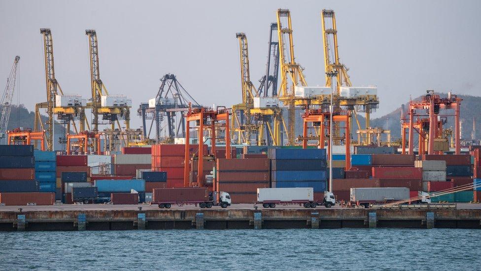 Containers con exportaciones