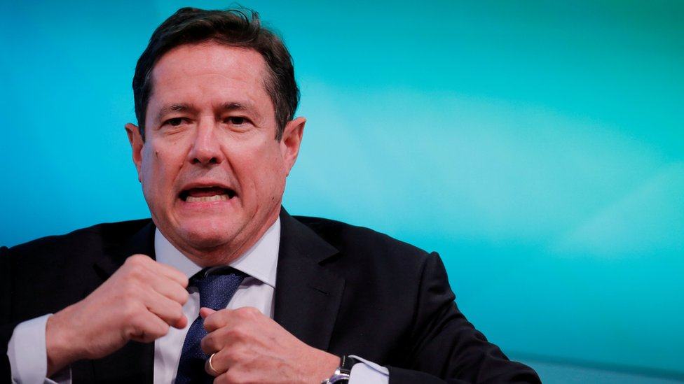 Barclays boss Jes Staley