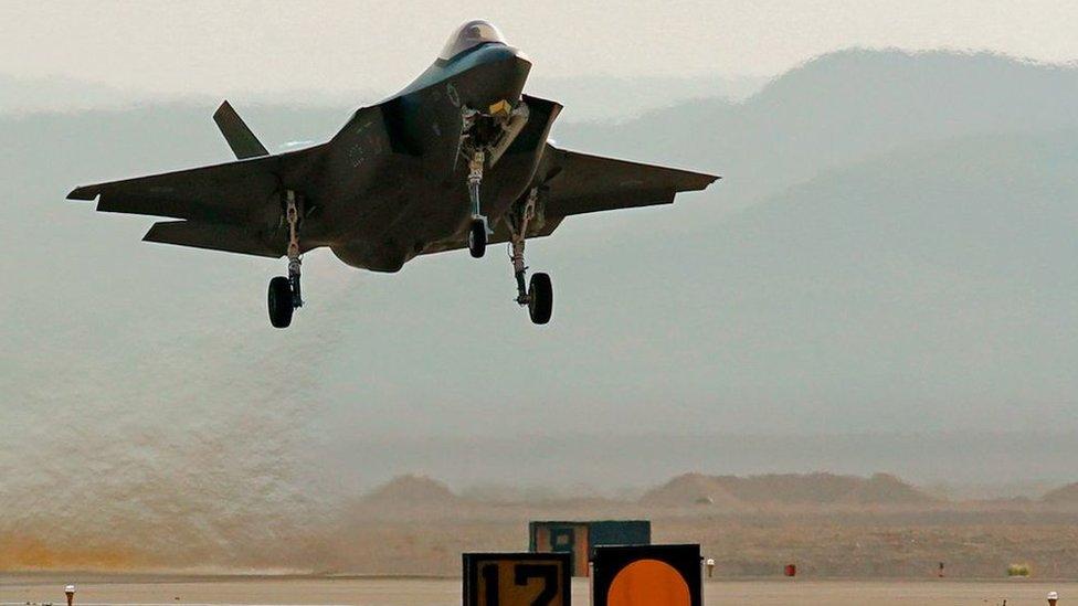 以色列F-35戰機,2019年11月11日