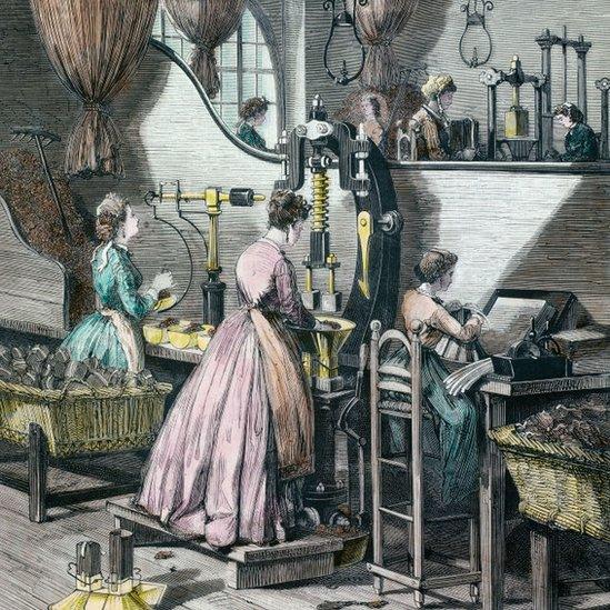 Trabajadoras, ilustración
