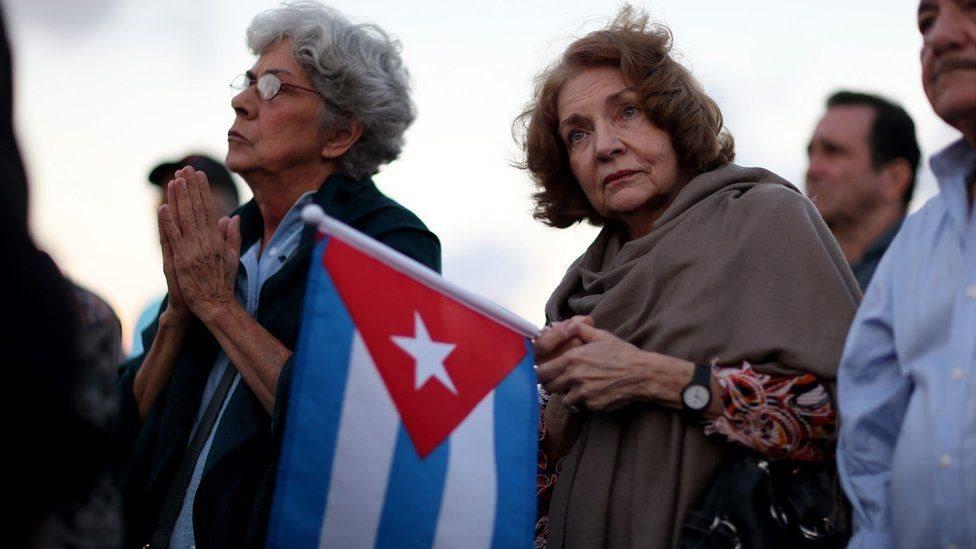 La comunidad cubana tiene una fuerte presencia en el sur del estado de Florida, especialmente en Miami.