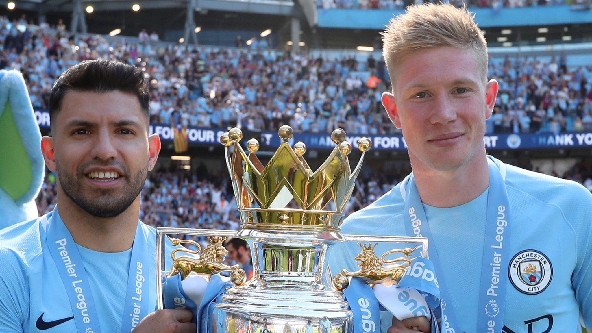Kevin de Bruyne: Man City quadruple 'nearly impossible', says midfielder
