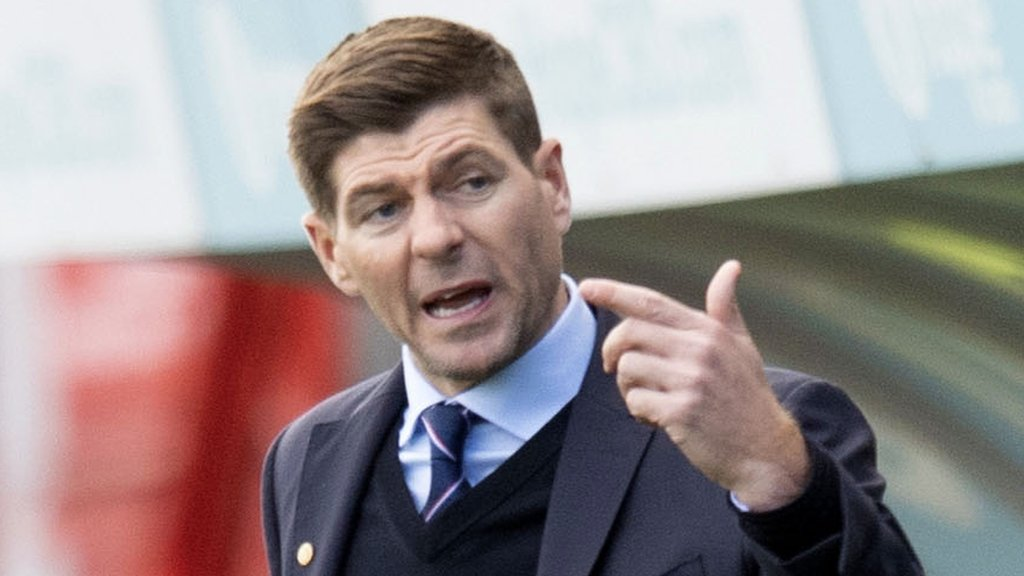 Rangers' Steven Gerrard relief at first away league win against Hamilton