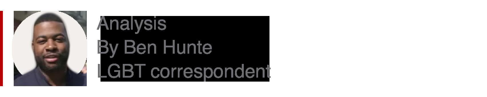 Analysis box by Ben Hunte, LGBT correspondent