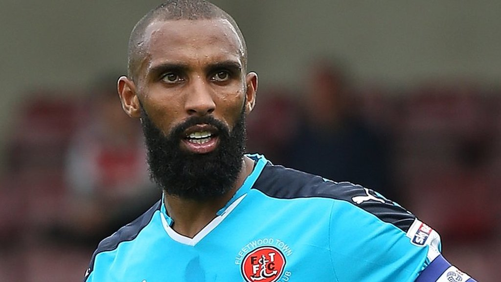 Nathan Pond: Fleetwood Town captain leaves to join Salford City