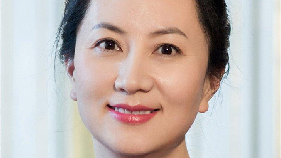 Meng Wanzhou, Huawei's chief financial officer (CFO)