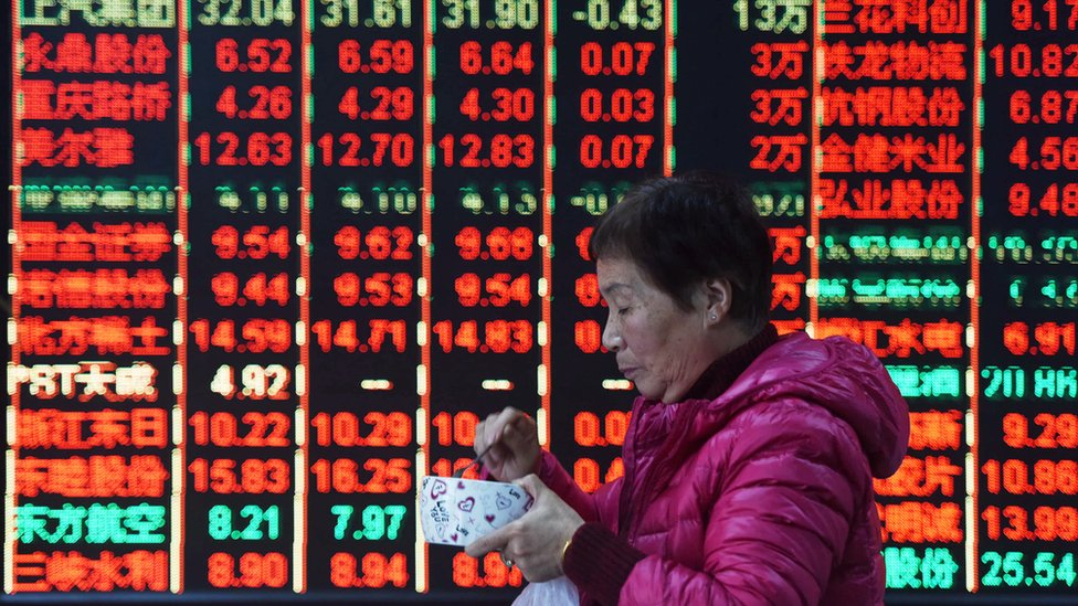 Shanghai Composite: surges on hopes of market support