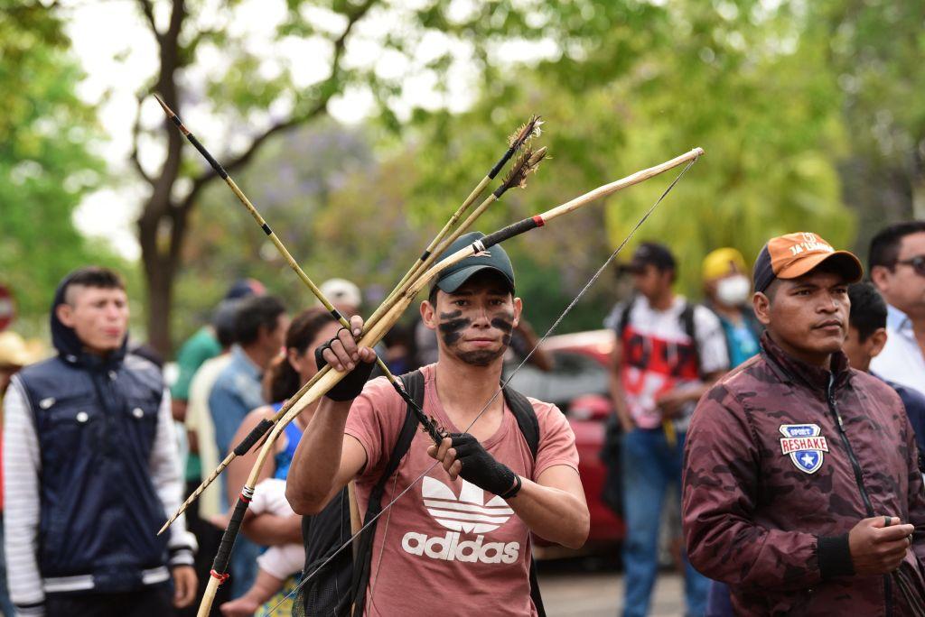 Manifestacion Paraguay