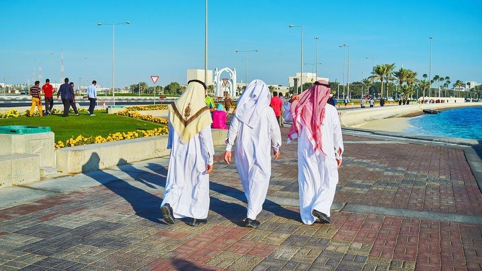 Los qataríes han sorteado el bloqueo impuesto hace un año por sus vecinos.