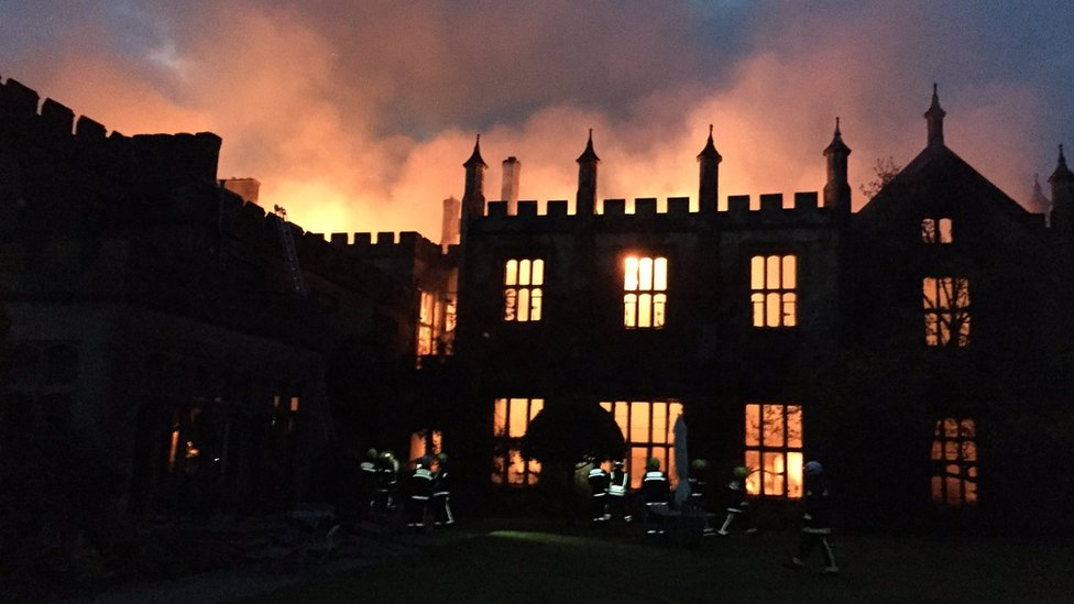 Parnham House 'at risk of collapse' after arson