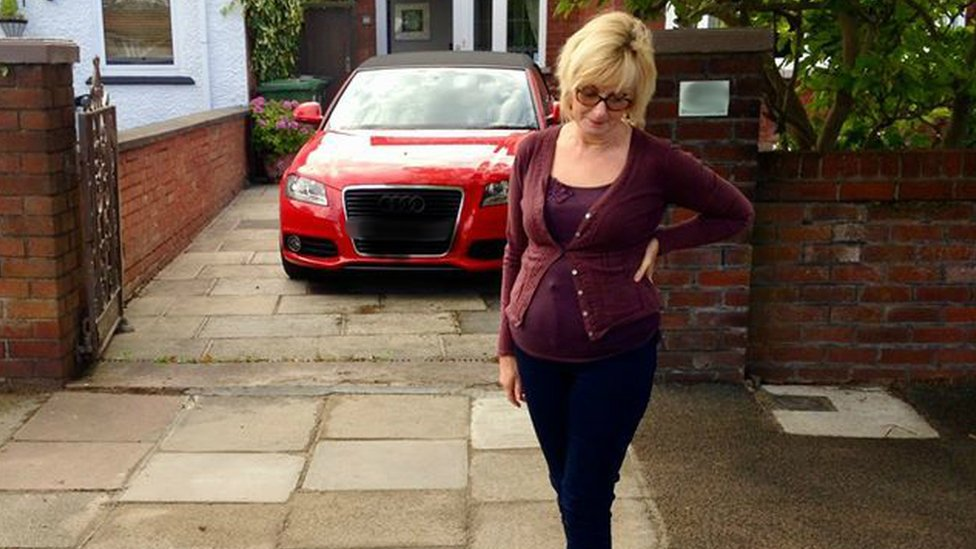 Southport woman 'breaks the law' by parking on her drive