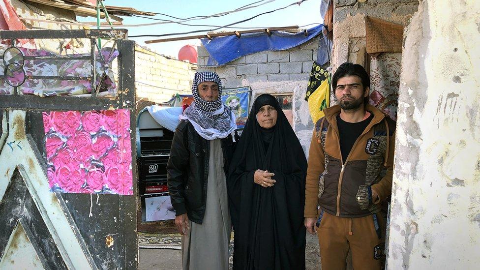 Residencia de la familia de Kanim en Irak.