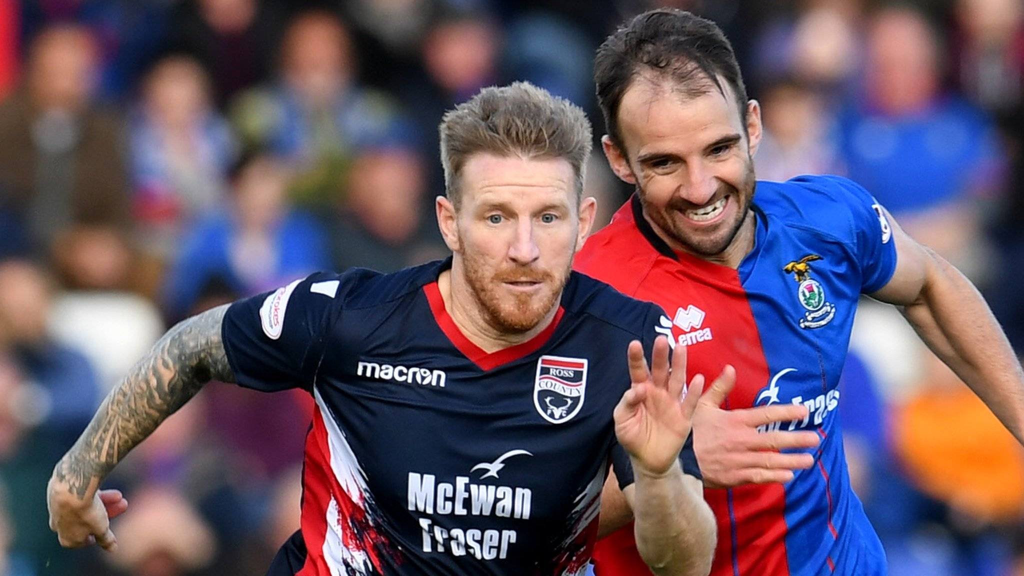 Ross County 0-0 Inverness CT: Highland rivals end goalless
