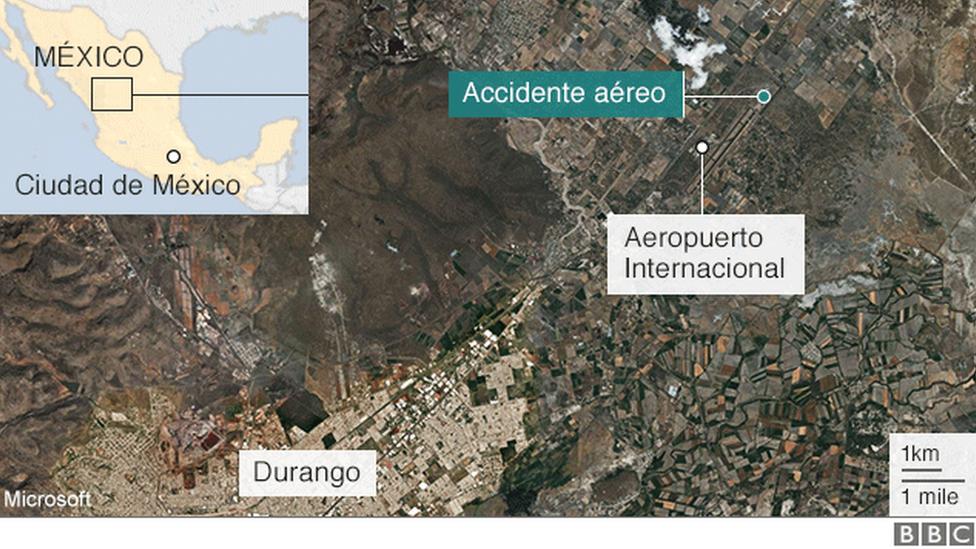 Mapa del aeropuerto